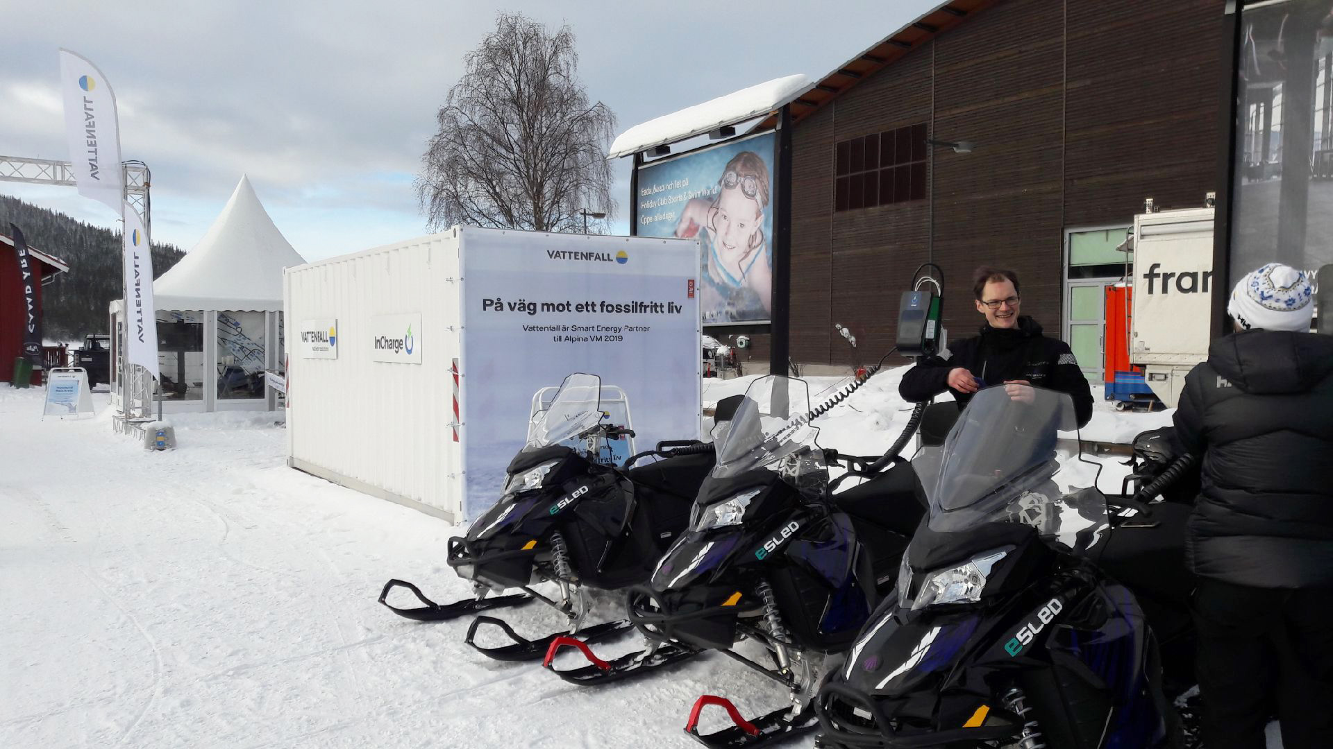 Mobile battery storage system deployed in Are, Sweden