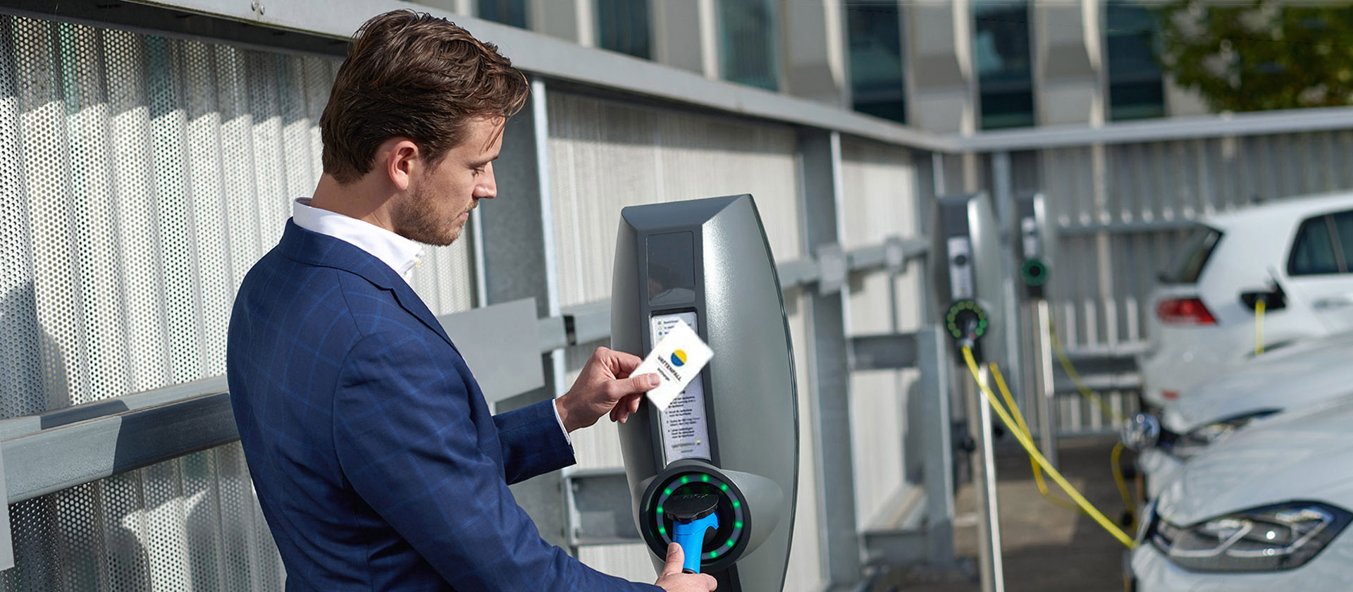 InCharge electric vehicle charging point