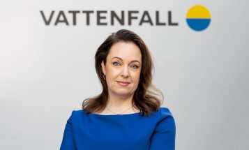 Vattenfall's President and CEO Anna Borg