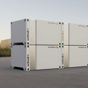 Vattenfall and Northvolt has launched a new battery energy storage solution, Mobile Voltpack.