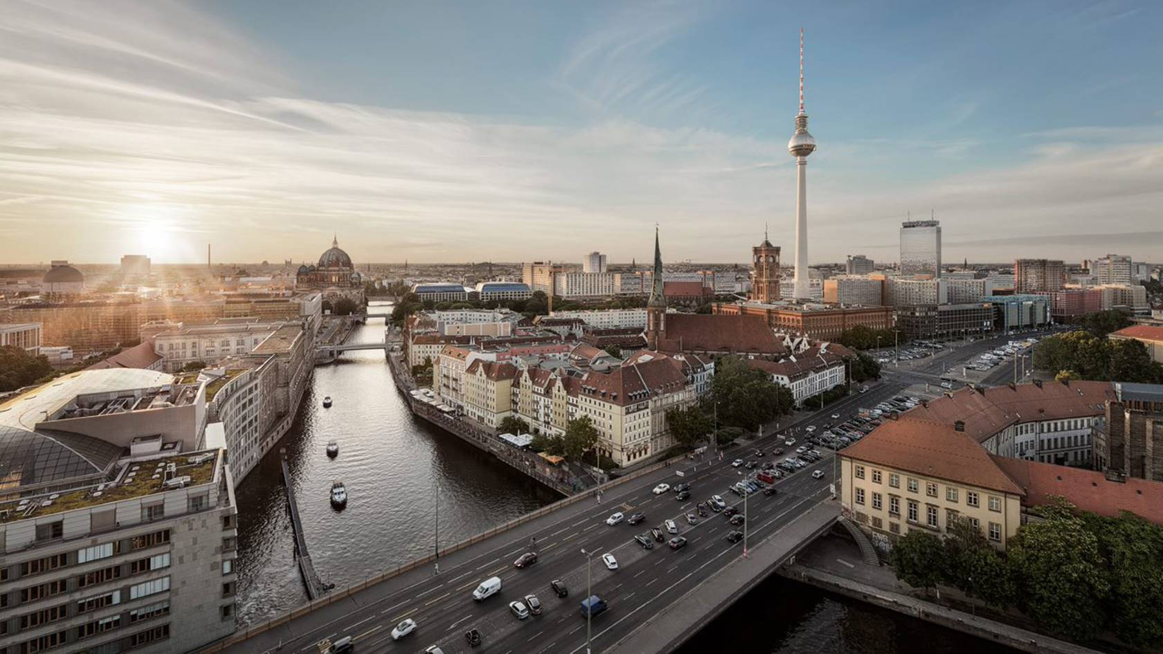 Aerial photo of Berlin