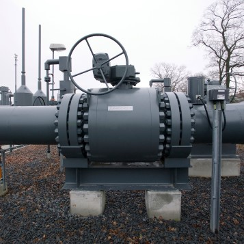 Gas storage at Epe