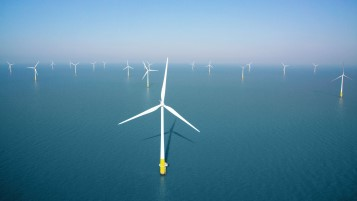 Image from Kentish flats offshore wind farm