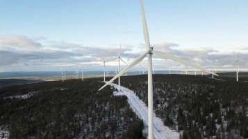 The Storrotliden wind farm in Sweden