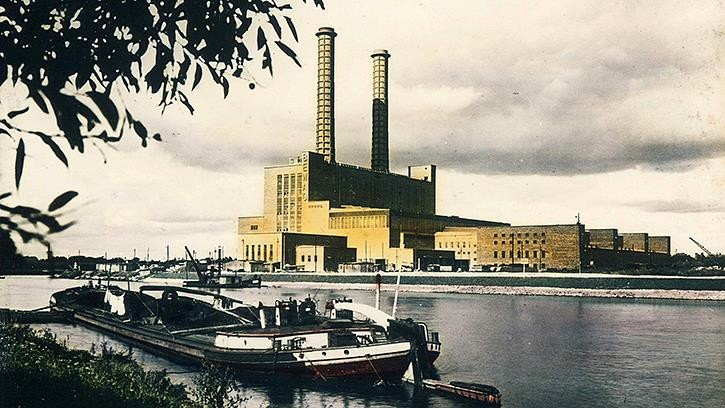The West Power Plant – with a total capacity of 185 MW – went online at the first expansion stage in 1930.jpg