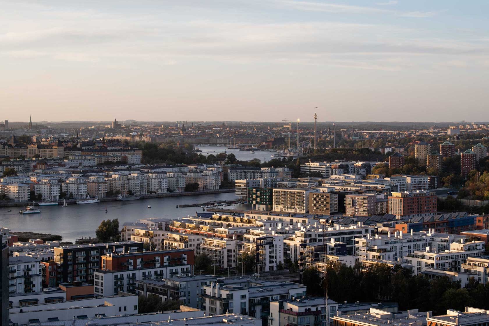 The city of Stockholm
