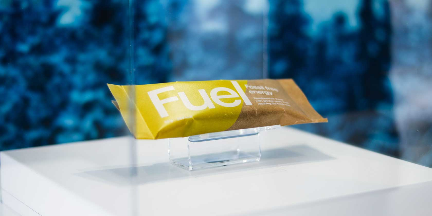"""Fuel"" – an energy bar aiming to be 100% fossil free."
