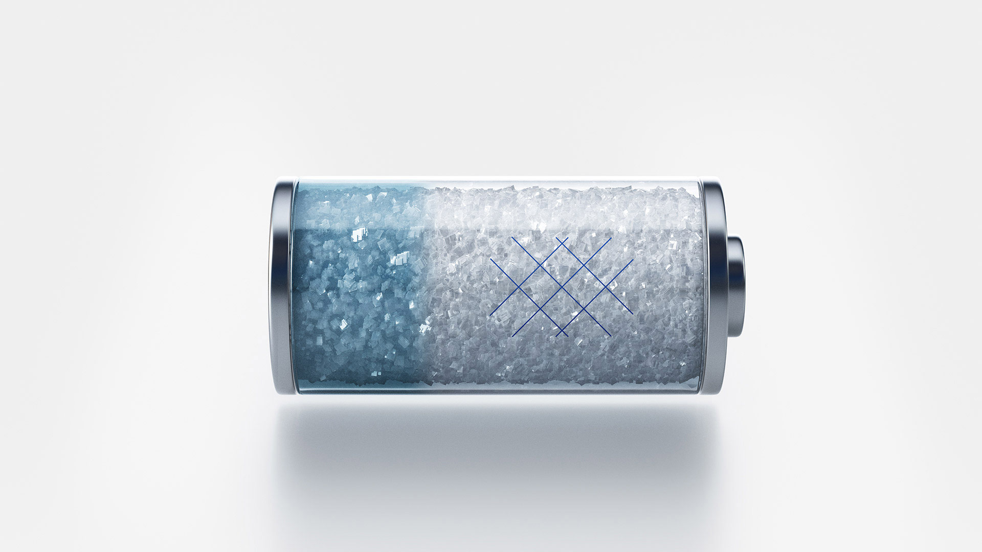 A battery filled with salt. Illustration: SaltX Technology
