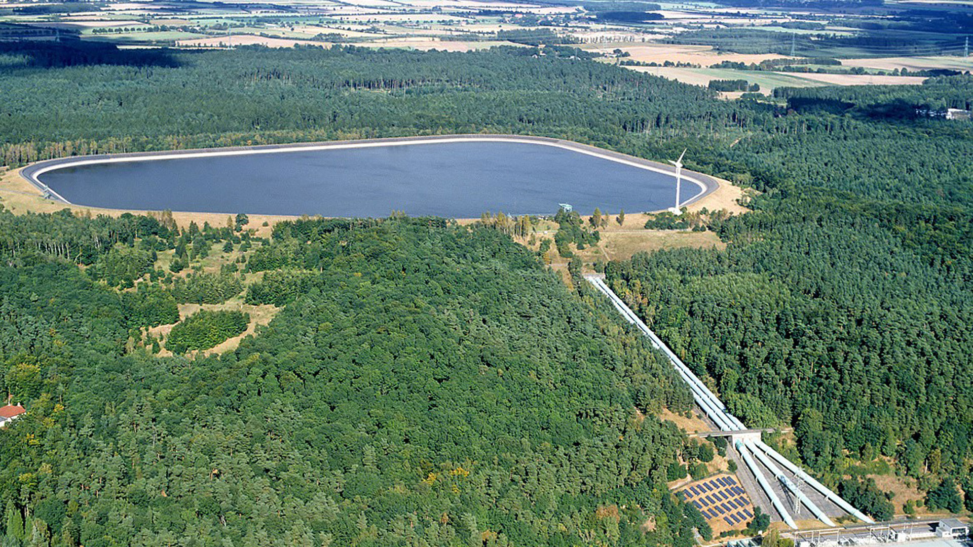 Geesthacht pumped storage plant